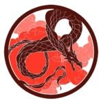 dragon rouge puissance chine spirale
