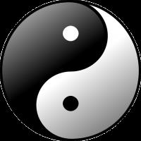 yin yang dessin taiji
